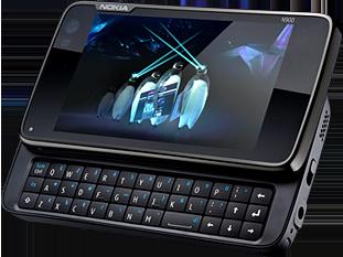 Nokia N900 (Image from NOKIA)