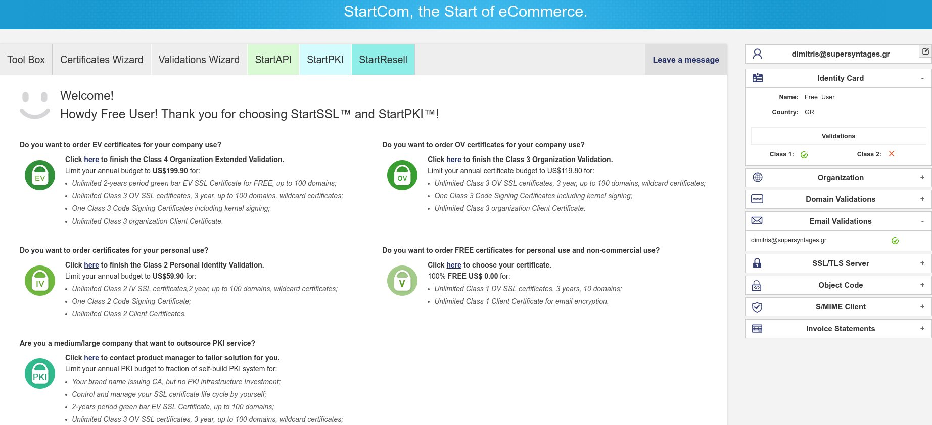 How to get free signed SSL Certificates and setup secure