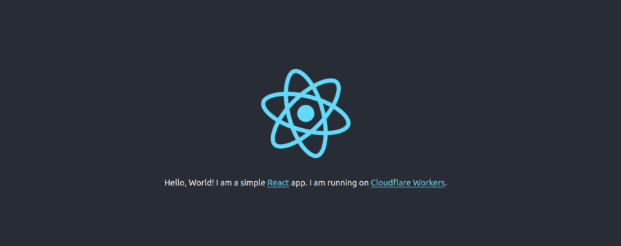 Cloudflare Workers: Deploy a React app with create‑react‑app